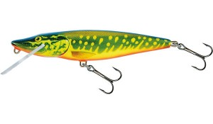 Wobler Salmo 11 cm Floating (Hot Pike)