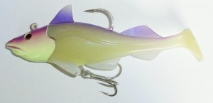 Quantum Sea Skrey Shad Purple Moon 250 i 340 gram